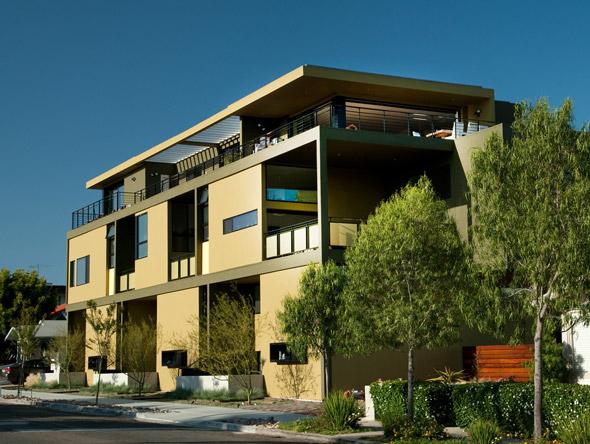 3761 centre st san diego 92103 san diego modern for Modern homes san diego